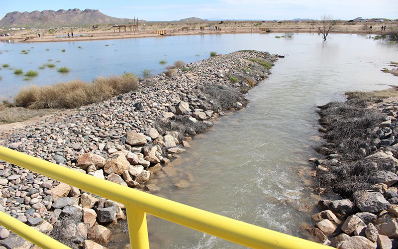"""""""Water flows through Gila River Indian Community."""""""