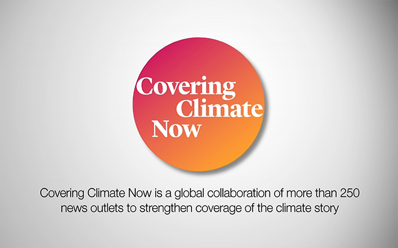 Informing the the public of the effects of climate change is a responsibility taken by reliable media outlets